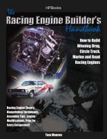 Engine Books - Ford Engine Books - HP Books - Racing Engine Builders Handbook: How to Build Winning Drag - Circle Track - Marine and Road Racing Engines By Tom Monroe