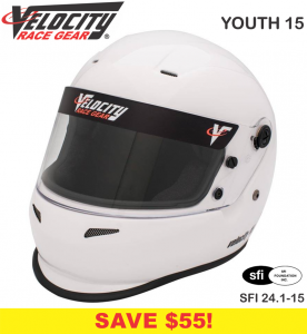 Helmets - Youth Helmets - Velocity Youth 15 Helmets - SALE $229.99 - SAVE $30