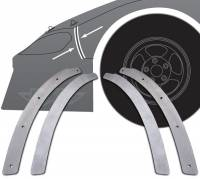 Nose Parts & Accessories - Nose Braces - Five Star Race Car Bodies - Five Star 2019 Late Model Nose to Fender Backup Plate Kit (2 Pieces)
