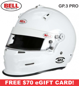 Bell GP.3 Pro Helmets - SALE $594.95 - SAVE $105