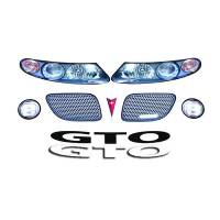 Decals, Graphics - GTO Decals - Five Star Race Car Bodies - Five Star Nose Only Graphics Kit - MD3 Dirt Style GTO