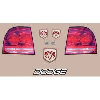 Decals, Graphics - Dodge Charger Decals - Five Star Race Car Bodies - Five Star Tail Only Graphics Kit - Dodge Charger
