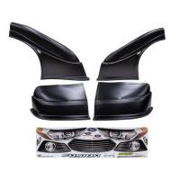 MD3 Nose & Fender Combo Kits - Fusion MD3 Combo Kits - Five Star Race Car Bodies - Five Star 2013 Ford Fusion MD3 Complete Nose and Fender Combo Kit - Newer Style -Black