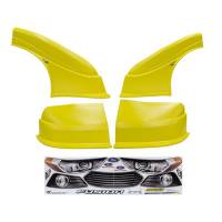 MD3 Nose & Fender Combo Kits - Fusion MD3 Combo Kits - Five Star Race Car Bodies - Five Star 2013 Ford Fusion MD3 Complete Nose and Fender Combo Kit - Newer Style -Yellow