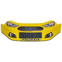 Stock Car Noses - Ford Fusion Noses - Five Star Race Car Bodies - Five Star Ford Fusion Nose - Yellow