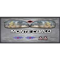 Decals, Graphics - Chevrolet Monte Carlo Decals - Five Star Race Car Bodies - Five Star 1999 Chevrolet Monte Carlo Nose I.D.Graphics Kit
