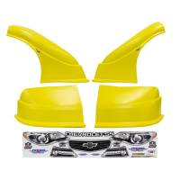 MD3 Nose & Fender Combo Kits - Chevy SS MD3 Combo Kits - Five Star Race Car Bodies - Five Star Chevy SS MD3 Complete Nose and Fender Combo Kit -Yellow (Older Style)