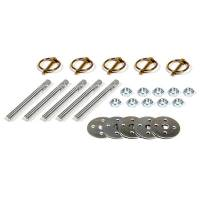 """Hardware and Fasteners - Five Star Race Car Bodies - Five Star Hood Pin Kit (5 Pack) - 3/8"""" Aluminum Pins"""