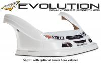 Five Star Race Car Bodies - Fivestar MD3 Evolution Nose and Fender Combo Kit - Mustang - White - Image 4