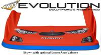 Five Star Race Car Bodies - Fivestar MD3 Evolution Nose and Fender Combo Kit - Fusion - Red (Flat RS Fender) - Image 4