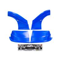MD3 Nose & Fender Combo Kits - Fusion MD3 Combo Kits - Five Star Race Car Bodies - Fivestar MD3 Evolution Nose and Fender Combo Kit - Fusion - Chevron Blue