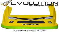 Five Star Race Car Bodies - Fivestar MD3 Evolution Nose and Fender Combo Kit - Camaro - Yellow (Flat RS Fender) - Image 4