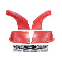 MD3 Nose & Fender Combo Kits - Chevy SS MD3 Combo Kits - Five Star Race Car Bodies - Fivestar MD3 Evolution Nose and Fender Combo Kit - Chevy SS - Red