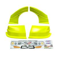 MD3 Nose & Fender Combo Kits - Corvette MD3 Combo Kits - Five Star Race Car Bodies - Five Star Race Car Bodies Combo Nose MD3 Evolution New Style Fenders/Nose/Graphics - Molded Plastic