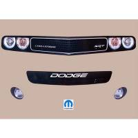 Decals, Graphics - Dodge Challenger Decals - Five Star Race Car Bodies - Five Star Challenger MD3 Nose ID Kit