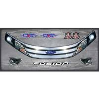Decals, Graphics - Fusion Decals - Five Star Race Car Bodies - Five Star Ford Fusion Nose ID Kit