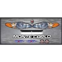 Decals, Graphics - Chevrolet Monte Carlo Decals - Five Star Race Car Bodies - Five Star 2003 Chevrolet Monte Carlo Nose Only Graphics Kit