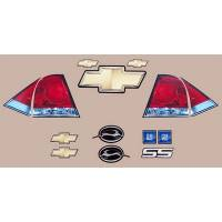 Decals, Graphics - Impala SS Decals - Five Star Race Car Bodies - Five Star Impala Tail Only Graphics Kit