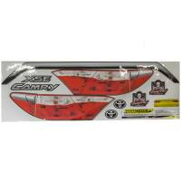 Decals, Graphics - Toyota Camry Decals - Five Star Race Car Bodies - Five Star Race Car Bodies Tail Only Graphics Kit Camry