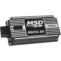 Ignition Systems - Ignition Boxes & Controls - MSD - MSD 6AL Digital Ignition w/Rev Control - Black