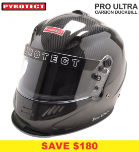 Helmets - Shop All Full Face Helmets - Pyrotect Pro Ultra Carbon Duckbill Helmets - SALE $719 - SAVE $180