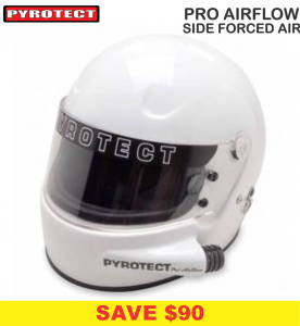 Pyrotect Pro Airflow Side Forced Air Helmets - SALE $339 - SAVE $90