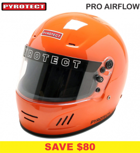 Helmets - Shop All Full Face Helmets - Pyrotect Pro Airflow Helmets - SALE $299 - SAVE $80