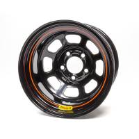 Bassett Wheels - Bassett D-Hole Lightweight Wheels - Bassett Racing Wheels - Bassett Racing Wheels 15x10 5x5 Beaded Black Spun