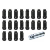 Hardware and Fasteners - Gorilla Automotive Products - Gorilla Automotive 14mm x 1.50 5 Lug Kit Black