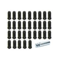 Gorilla Automotive Products - Gorilla Automotive 14mm x 1.50 8 Lug Kit Black