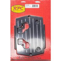 Battery Boxes, Trays and Components - Battery Trays - Racing Power - Racing Power Optima Alum Ball Milled Battery Tray Black