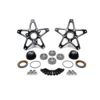 Front End Components - Front Hubs - Ti22 Performance - Ti22 Direct Mount Front Hubs Super Lite - Black