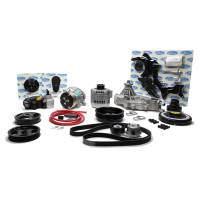 Engine Components - Vintage Air - Vintage Air LS Engine Front Runner Drive System Black