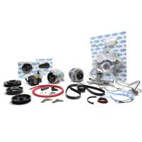 Engine Components - Vintage Air - Vintage Air SBF Front Runner Kit Black w/Power Steering