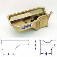 Canton Racing Products - Canton Ford 2300cc Stock Appearing Circle Track Rear Sump Oil Pan - Image 5