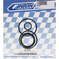 Oil Filters and Components - Remote Canister Oil Filters - Canton Racing Products - Canton Oil Filter Seal Kit - Includes All Seals Used In A CM Remote Oil Filter