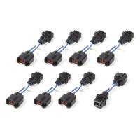 Fuel Injection Systems and Components - Electronic - Fuel Injection System Wiring Harnesses - FAST - Fuel Air Spark Technology - FAST Injector Adapter Harness USCAR to Minitimer (8 Pack)