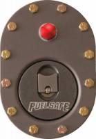 "Fuel Safe Systems - Fuel Safe Standard 4"" x 6"" Fill Plate- Aluminum - w/ 2.4"" Flush Cap - w/ -6 Vent - Image 2"