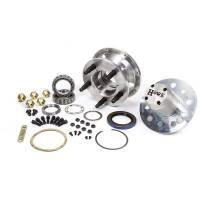 "Wheel Hubs, Bearings and Components - 5 x 5"" Hubs - Howe Racing Enterprises - Howe Complete Aluminum 5 x 5"" Rear Hub Kit - (8 Bolt Rotor)"