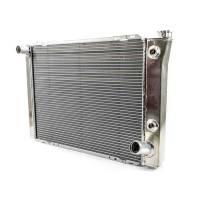 "Cooling & Heating - Howe Racing Enterprises - Howe Aluminum Late Model Radiator w/ Heat Exchanger - Chevy - 19"" x 27"" x 3"