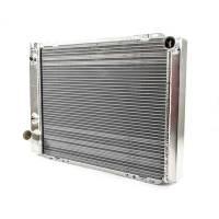 "Cooling & Heating - Howe Racing Enterprises - Howe Aluminum Late Model Radiator w/ Heat Exchanger - Ford - 19"" x 27"" x 3"""