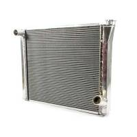 """Howe Radiators - Howe Aluminum Crossflow Radiators - Howe Racing Enterprises - Howe Aluminum Late Model Radiator - Chevy - 19"""" x 24-1/2"""" x 3"""""""