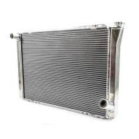 "Cooling & Heating - Howe Racing Enterprises - Howe Aluminum Late Model Radiator - Chevy - 19"" x 28"" x 3"""