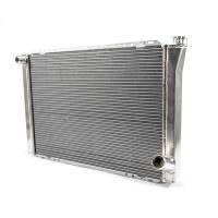 "Cooling & Heating - Howe Racing Enterprises - Howe Crossflow Aluminum Radiator -16 AN Inlet - 19"" x 29"" x 3"" - Chevy Style"