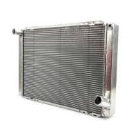 "Cooling & Heating - Howe Racing Enterprises - Howe Aluminum Late Model Radiator w/ No Filler - Chevy - 19"" x 28"" x 3"""