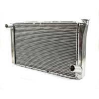 "Cooling & Heating - Howe Racing Enterprises - Howe Aluminum Late Model Radiator - Chevy - 16"" x 27-1/2"" x 3"""