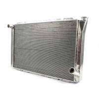 "Cooling & Heating - Howe Racing Enterprises - Howe Aluminum Late Model Radiator - Chevy - 19"" x 31"" x 3"""