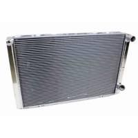 "Cooling & Heating - Howe Racing Enterprises - Howe Aluminum Dual Pass Radiator - 19"" x 31"" x 3"" - Chevy - No Filler"
