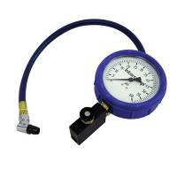 Wheel & Tire Tools - Inflation Systems - Intercomp - Intercomp Fill - Bleed & Read Air Pressure Gauge - 0-60 PSI x 1 PSI Increments
