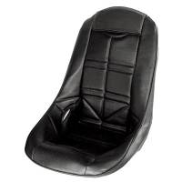 Cockpit & Interior - Jaz Products - Jaz Pro Stock Low Back Seat Cover Black Vinyl
